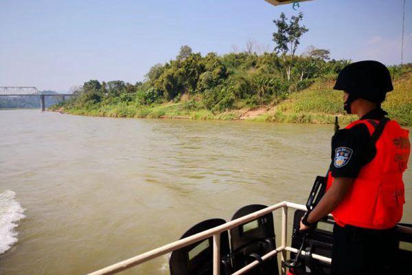 中老缅泰湄公河联合巡航 护航一带一路建设项目