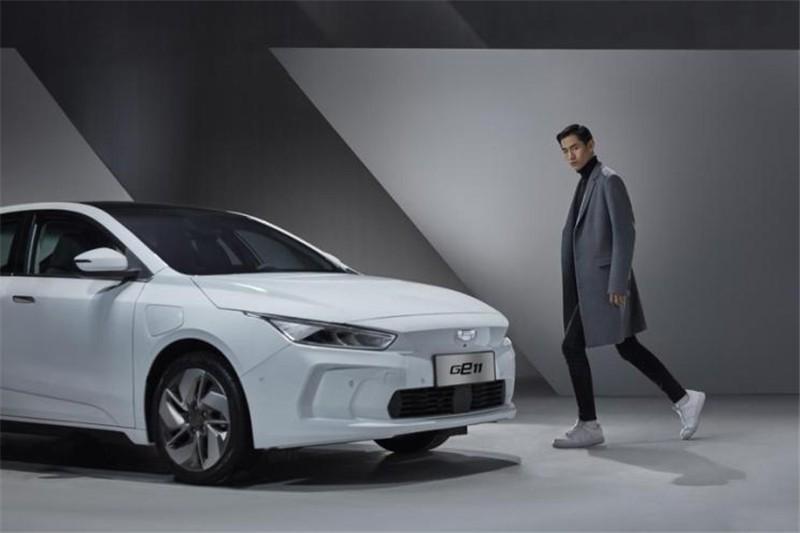 吉利纯电动轿车GE11官图发布 将于一季度上市