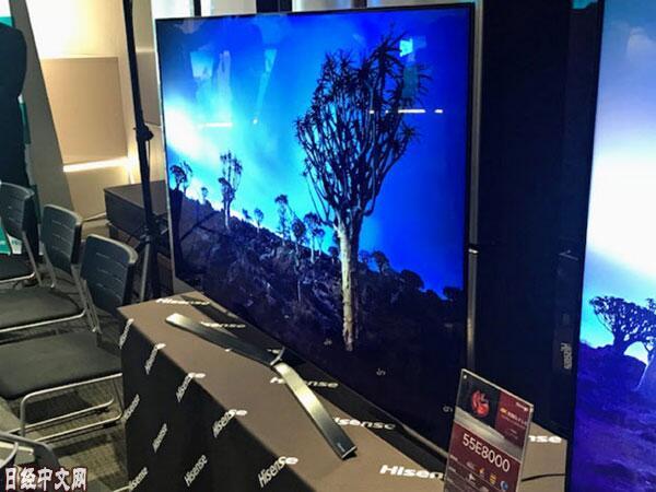 海信4月在日本发售有机EL电视