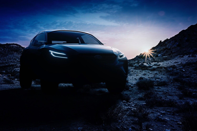 斯巴鲁发布Viziv Adrenaline概念车预告图