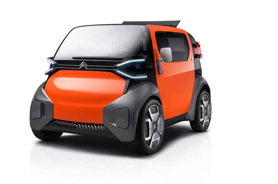 雪铁龙Ami One双座电动概念车发布 共享城市车前瞻