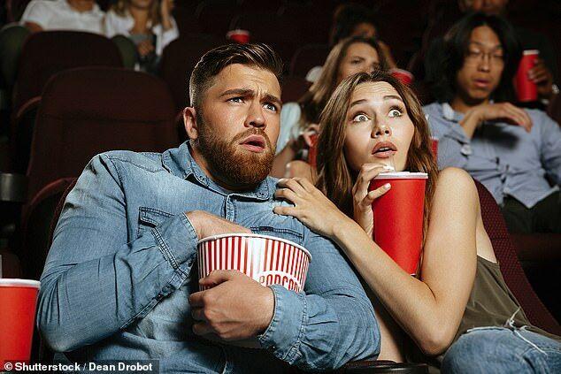 美国研究:观看恐怖电影易造成发胖