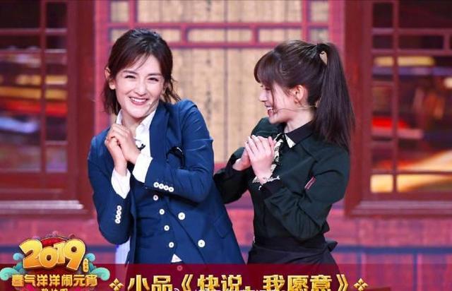 谢娜赵丽颖的友情之路,为何她俩的一个小互动能传遍网络?