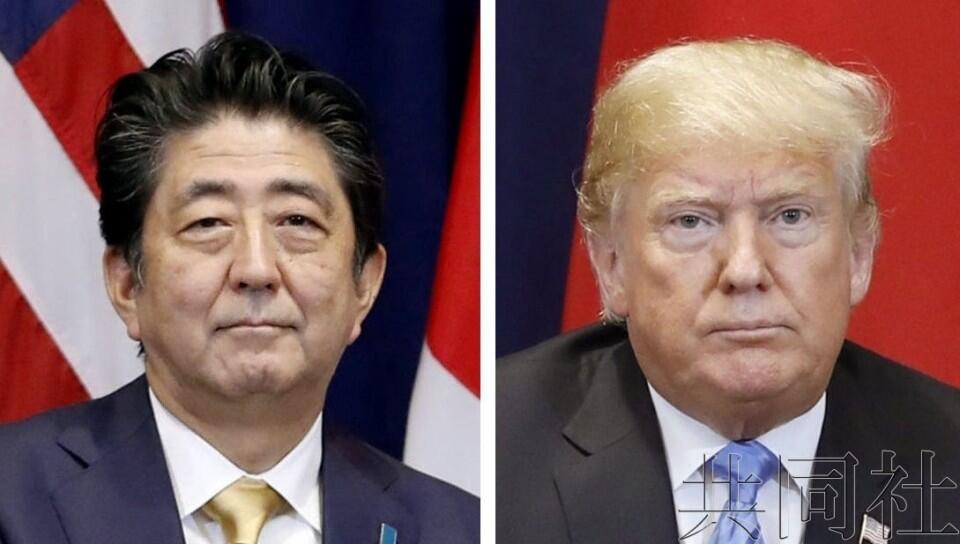 美日首脑举行电话会谈,安倍称期待美朝首脑会谈促进东亚和平