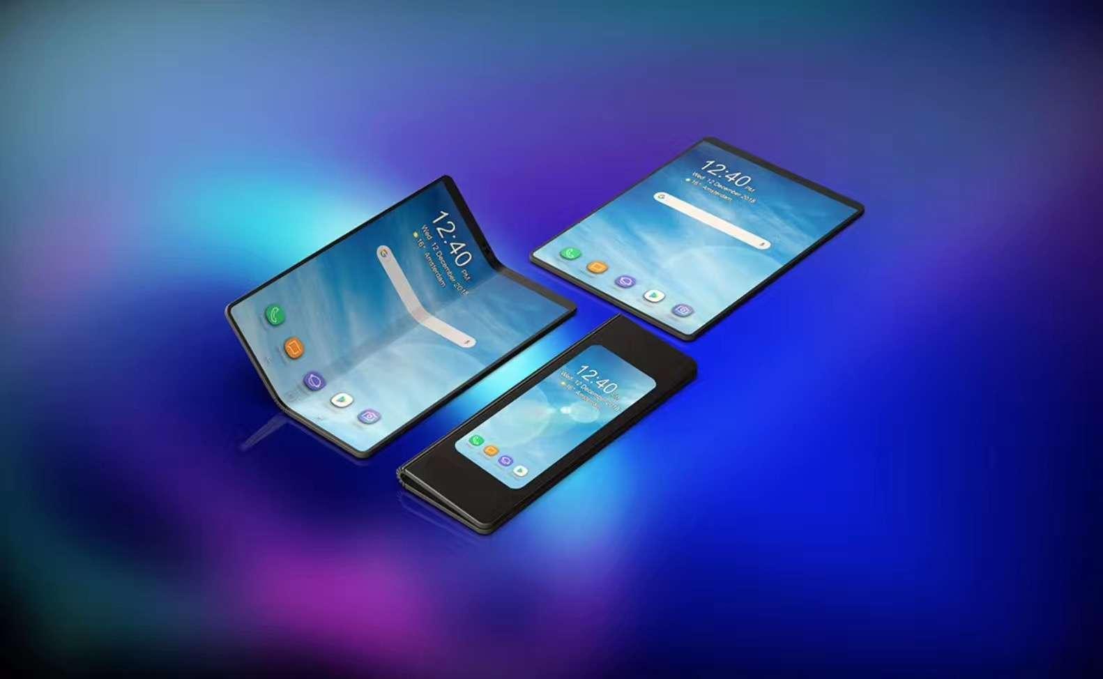 三星发布可折叠手机Galaxy Fold 网友脑洞大开