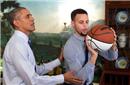 """""""最棒导师""""!奥巴马:我曾教过库里投篮秘诀的!"""