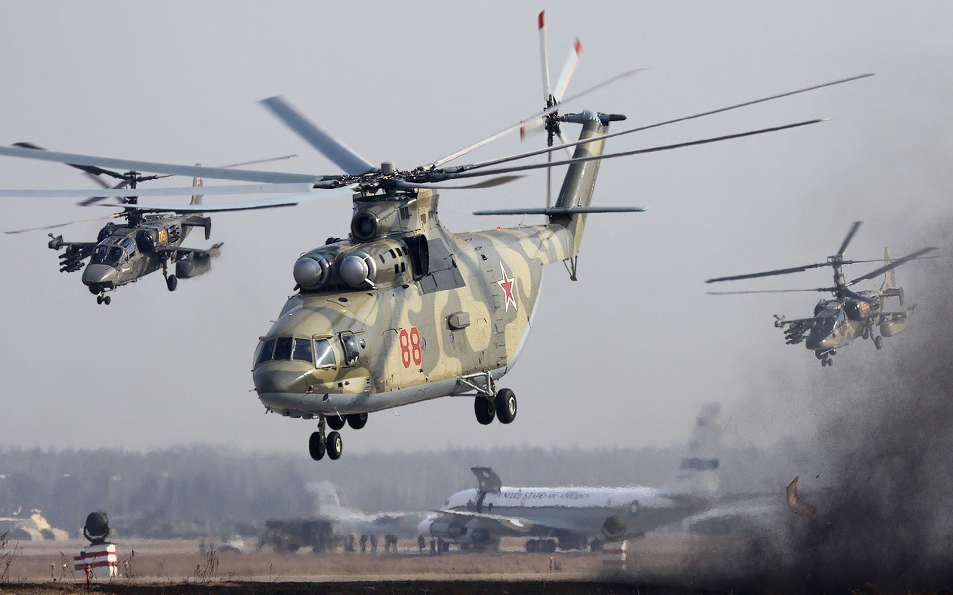 俄媒:中俄将签重型直升机制造合同 计划造200架