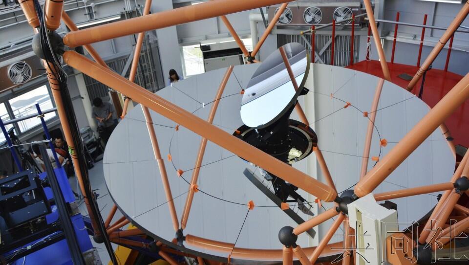 """日本冈山天文台东亚最大望远镜""""晴明""""开放使用"""