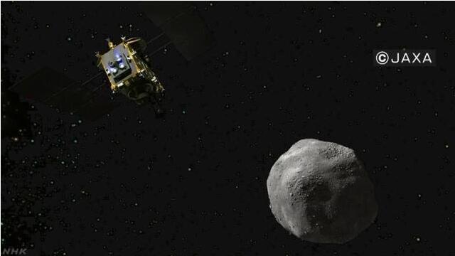 """日本""""隼鸟2号""""探测器将于22日登陆""""龙宫"""""""