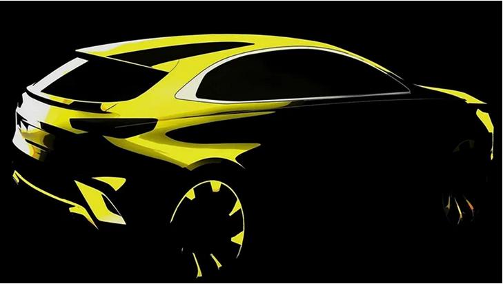 起亚公布Xceed紧凑型跨界车设计草图