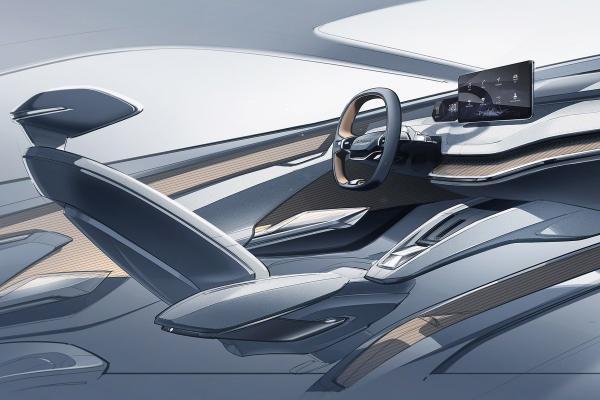 斯柯达发布VISION iV概念车内饰设计图