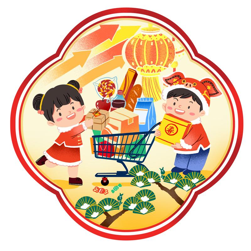 外国人:中国节日消费力驳国际媒体负面言论