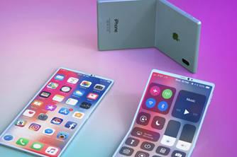 苹果新专利获批:未来的可折叠手机或许长这样
