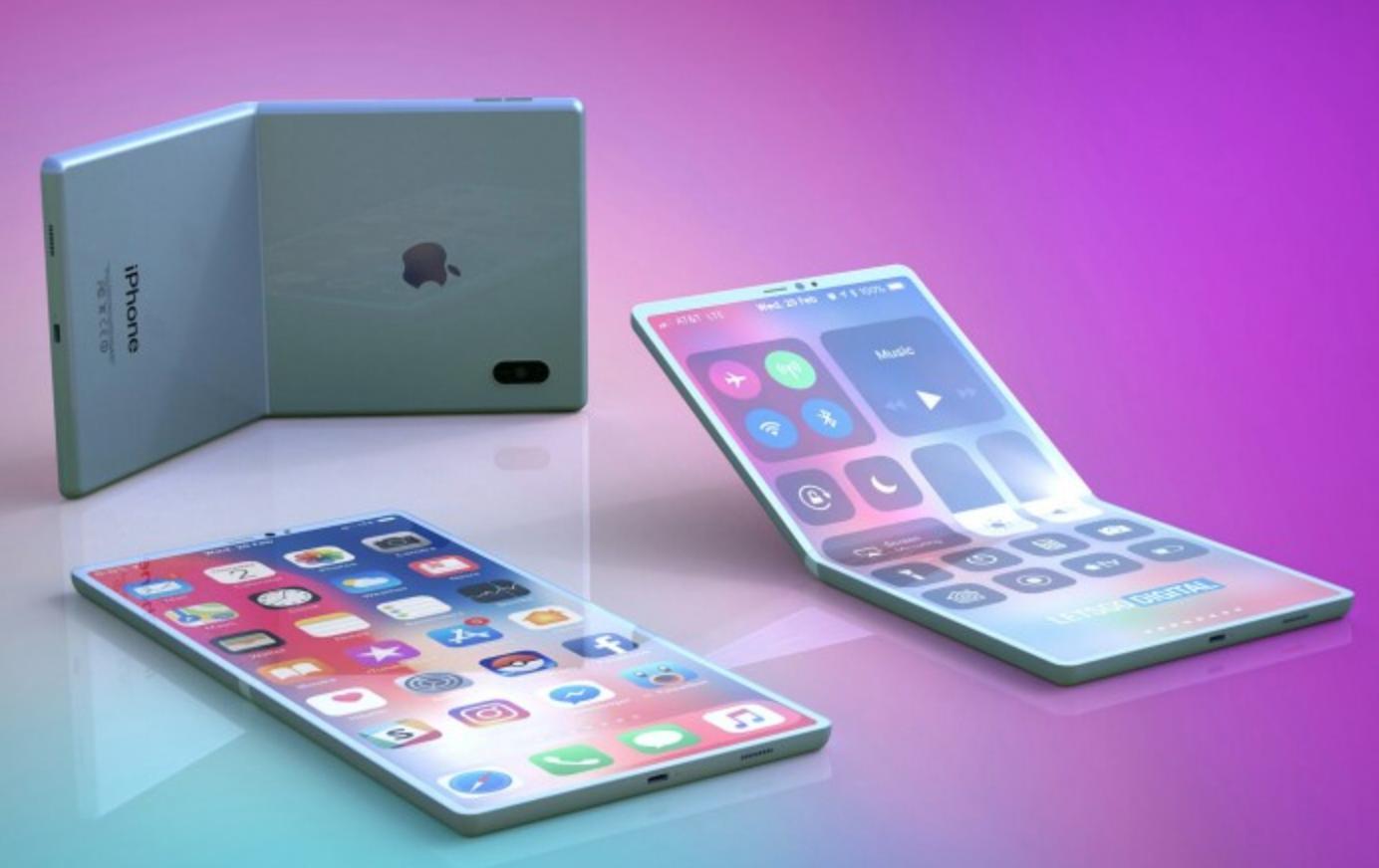 """高冷的苹果也跟风折叠屏了 外观像""""粉饼盒"""""""
