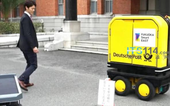 日本政府批准无人送货车上路测试 并编制安全指南