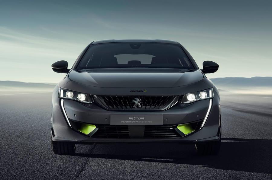 标致508 PSE混动概念车官图发布 将亮相日内瓦车展