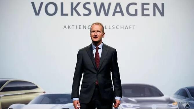 大众CEO:美关税或致公司年损失25亿欧元