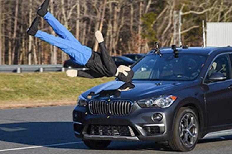 IIHS最新行人避碰系统测试公布 9款车脱颖而出