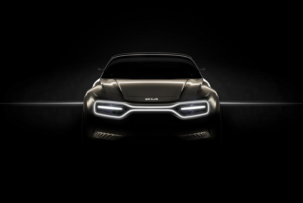 起亚发布全新电动概念车预告图 日内瓦车展首秀