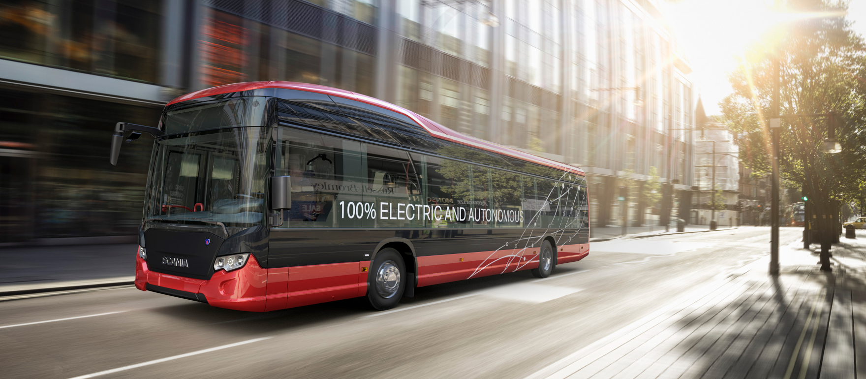 斯堪尼亚在瑞典启动自动驾驶巴士路试