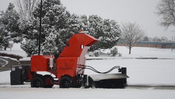 售价达35995美元的SnowBot Pro除雪机器人已售罄