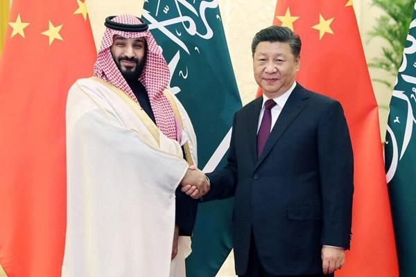 习近平会见沙特阿拉伯王国王储穆罕默德