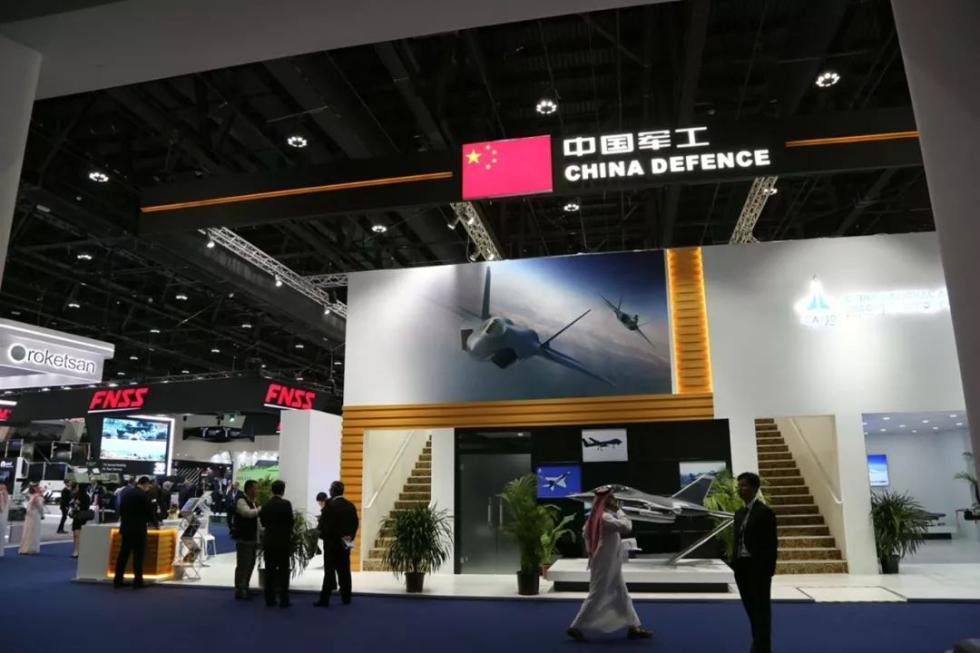中国军工组团亮相中东最大防务展 这些重器太惊艳