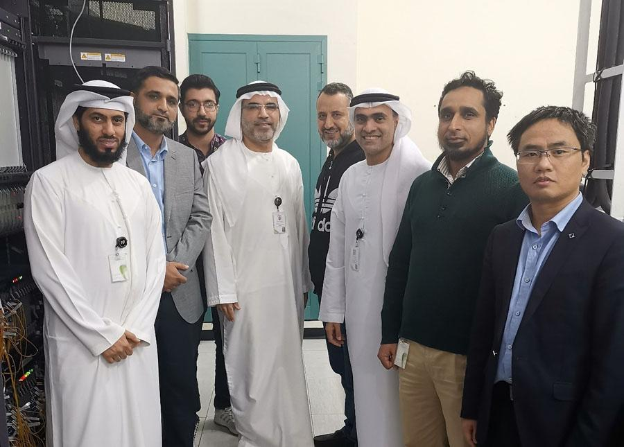 Etisalat携华为完成运营商首个单波600G创新试点