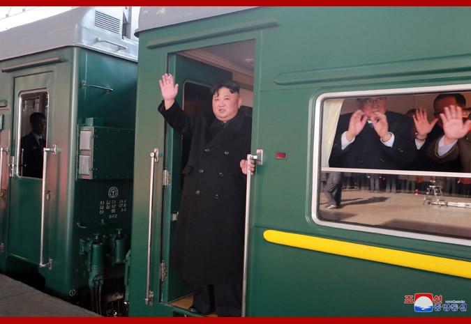 """朝中社""""官宣"""":金正恩离开平壤前往越南赴会"""