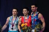 世界杯墨尔本站:中国选手尤浩获男子双杠金牌