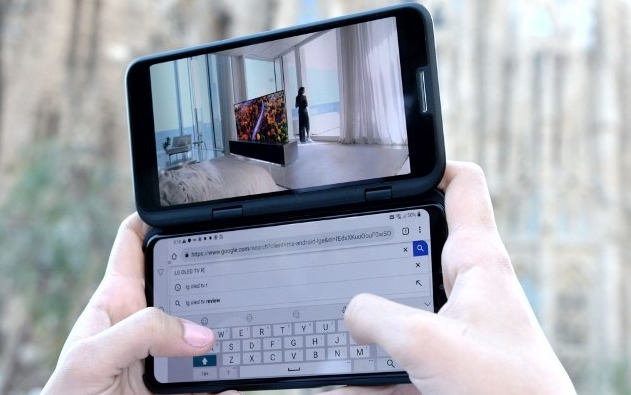MWC 2019:连亏15个季度的LG能靠5G双屏手机翻身吗