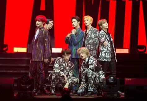 乐华七子NEXT马来西亚开唱释放音乐无限力量