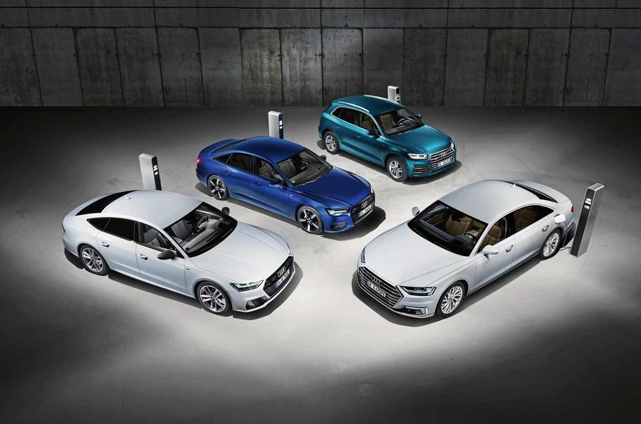 新款奥迪插电式混动车系列将亮相日内瓦
