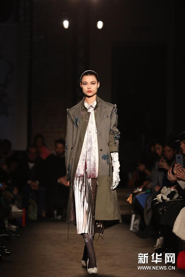 米兰时装周:Atsushi Nakashima品牌发布2019秋冬新品