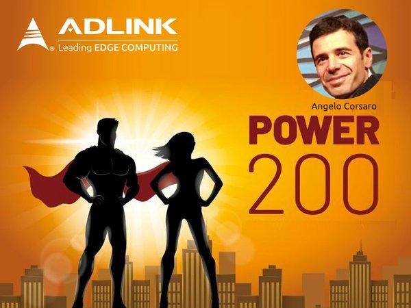 """凌华科技CTO Angelo Corsaro入围""""世界最具影响力的数据经济领袖""""Power 200名单"""