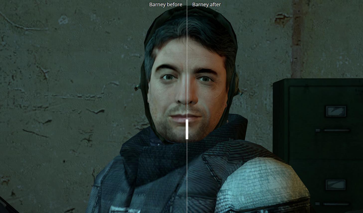 玩家使用AI技术打造PC《半条命2》高清材质包