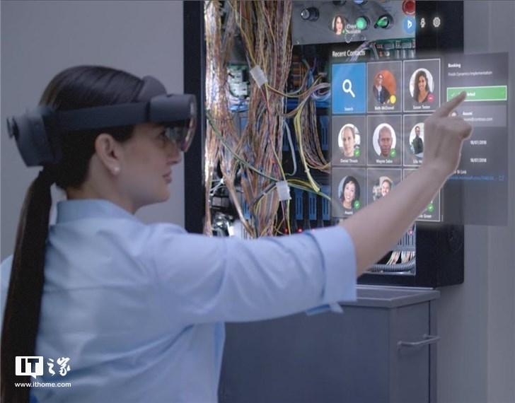 微软HoloLens 2实机谍照曝光:体积更小佩戴简单