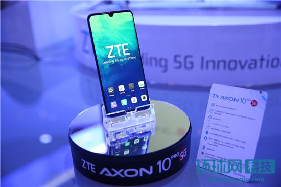 MWC2019:中兴天机Axon 10 Pro亮相 5G旗舰正式商用