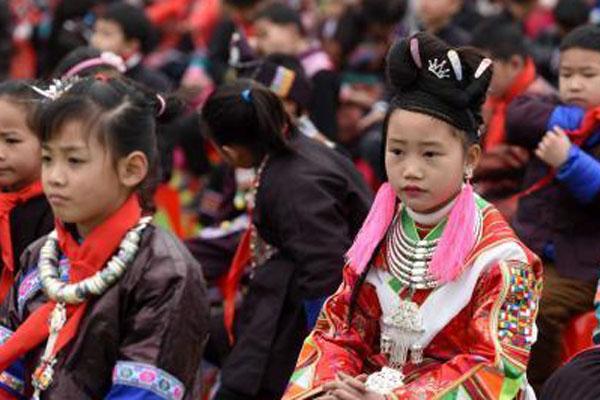 广西侗乡易地扶贫搬迁安置点专属学校开学