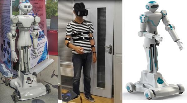 """东北大学学生研发智能机器人 上演""""隔空取物"""""""