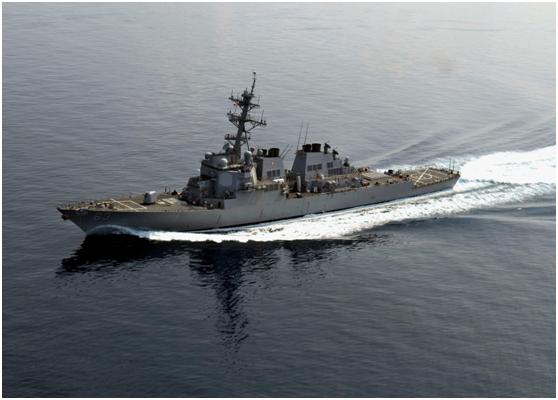 """又来表演""""支持小弟""""?美两艘军舰穿越台湾海峡"""