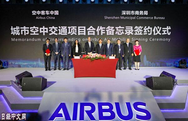 欧洲空客与华为合作 开发通信线路和液晶屏幕等搭载于飞机上的新技术