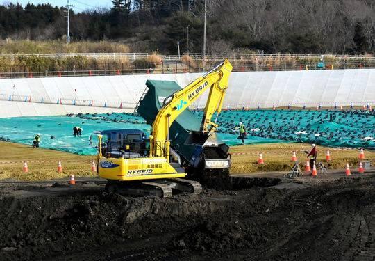 日本拟循环再利用福岛核污染土 遭居民强烈反对