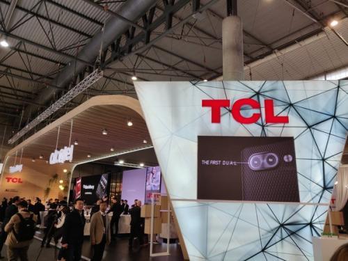 MWC2019:TCL通讯携多款终端亮相 折叠屏吸睛