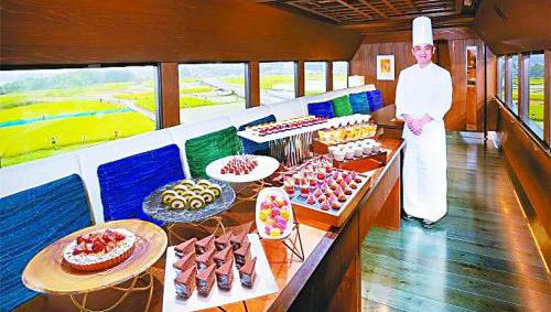 甜食列车,日本飞驰的风景线