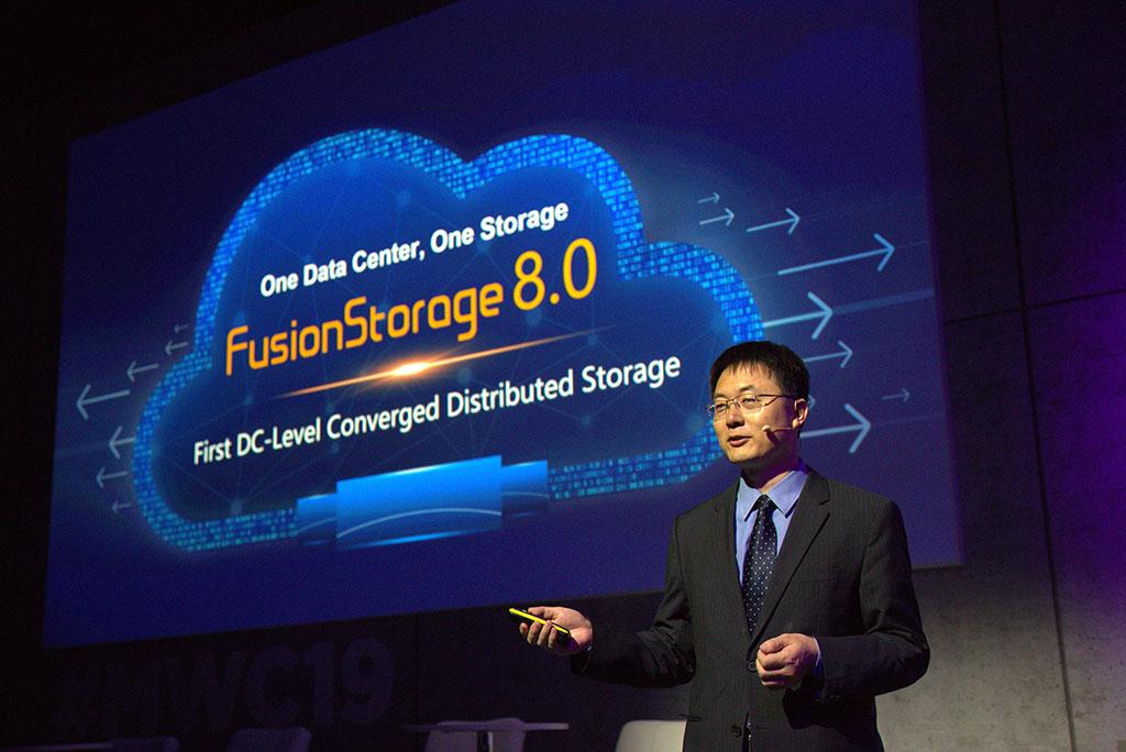 华为发布新一代数据中心级融合分布式存储FusionStorage 8.0
