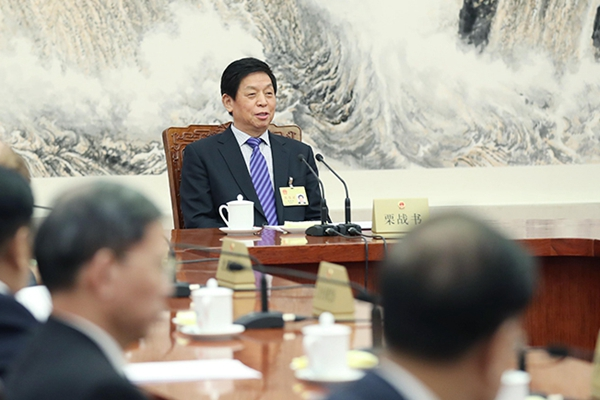十三届全国人大常委会举行第二十五次委员长会议