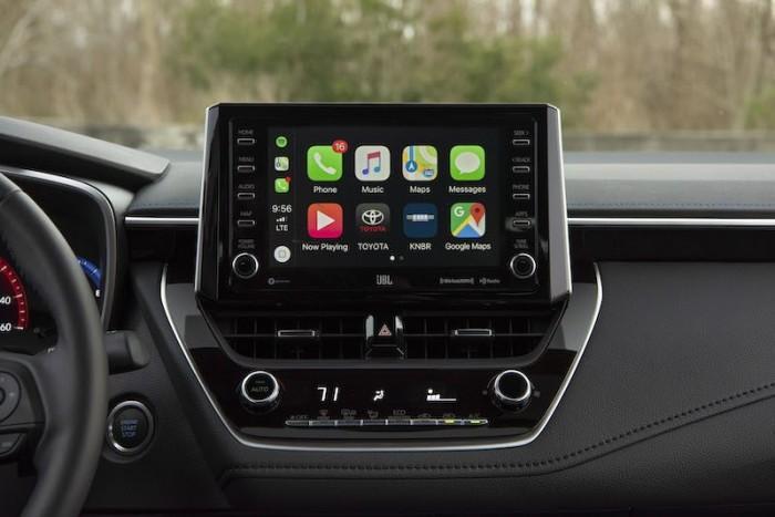 2020款丰田卡罗拉终于标配CarPlay车载系统