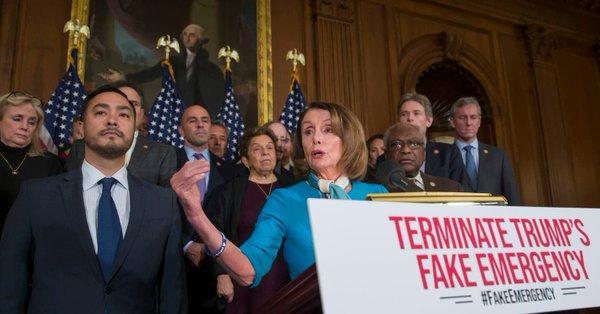 美众院通过决议案欲结束紧急状态令 特朗普:100%否决