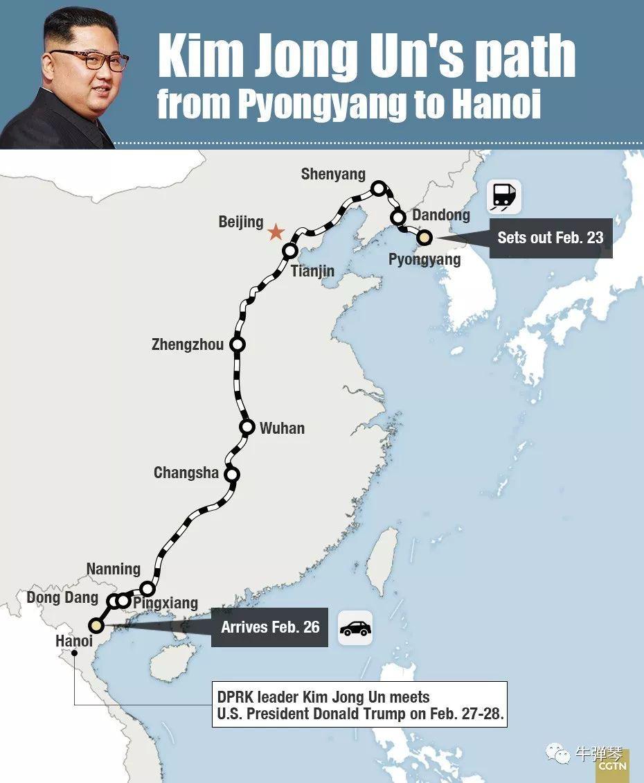 特朗普第一次到越南,这个场景让他感慨万千!